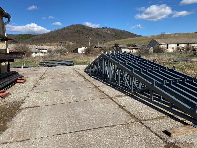 Ocelová konstrukce haly 10m x 18m x 4m
